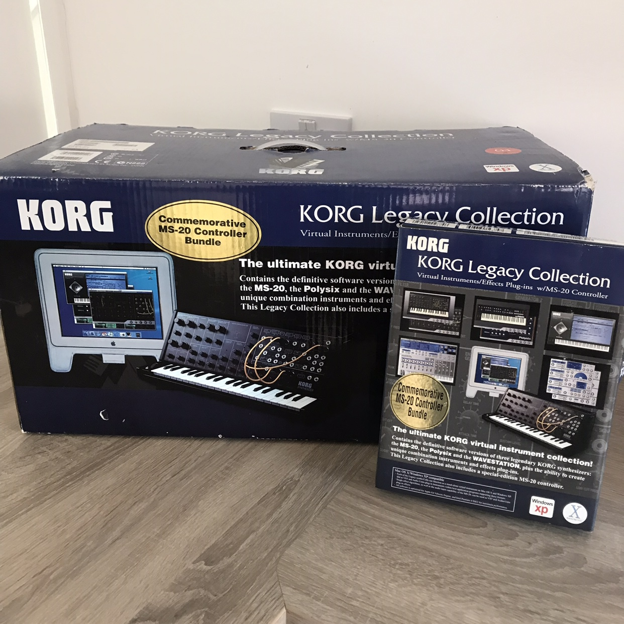 Brand New never used (display only) Korg MS20 Legacy