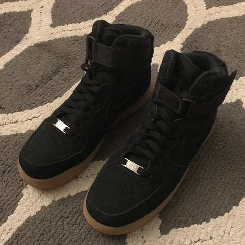 new concept cf9af 58f1b  kimora deaira. last year. Detroit, United States. Nike Air Force 1 High  Suede Women s Shoe ...