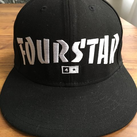 New Era Cap Fitted 59 50 Fourstar Thrasher Collab Size 7 3 8