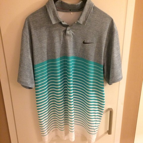 fae75822e @connor_daviiss. 2 years ago. Andover, UK. Tiger Woods Nike Collection Golf  Polo ...
