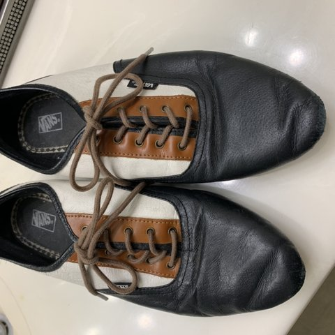 4ff123676f Vans leather Sophie Oxfords. These are no longer made or but - Depop