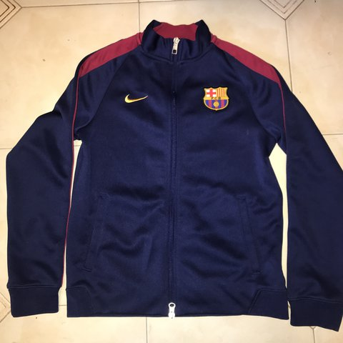 77e683cd496 @viviandoan. last year. New York, United States. Barcelona youth jacket.  Marked a size large in youth but ...