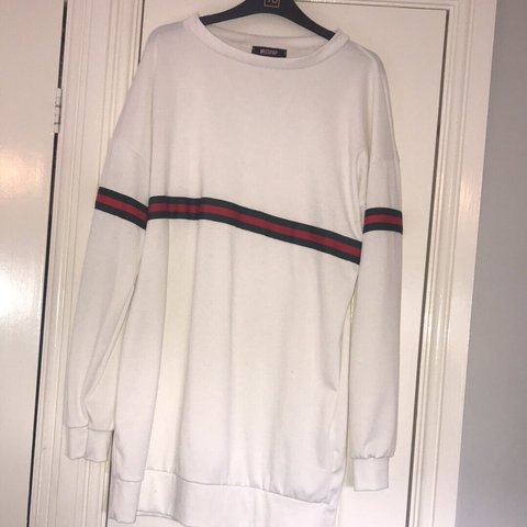 d27c336b3a6 ... Miss pap gucci inspired jumper dress worn once size small Depop