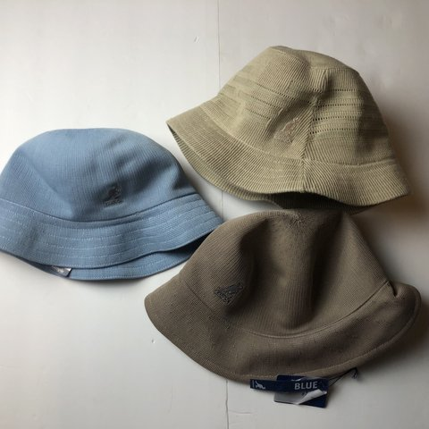 8d613f2acf9648 Crazy cool vintage kangol hats ! All 3 are BNWT These a - Depop