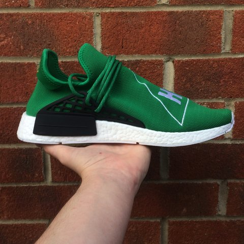 16df3b6e287cd Adidas Pharrell Williams Human Race NMD Green