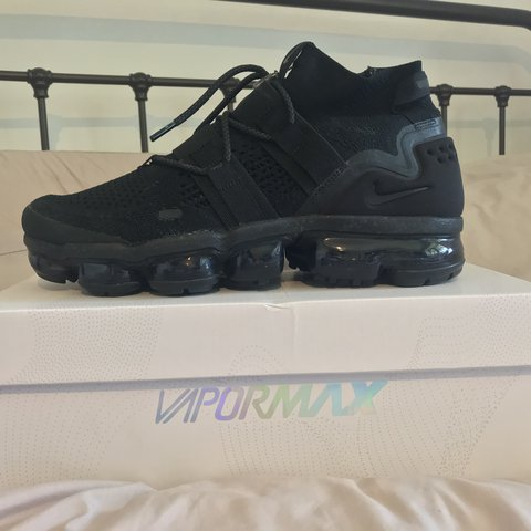 7ba1ca6384 @jackspurr249. last year. Manchester, United Kingdom. Nike vapormax flyknit  utility triple black - worn twice perfect condition 9.5/10 no ...