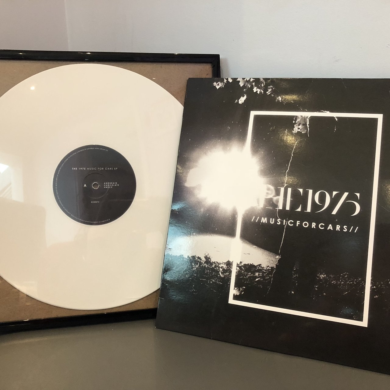 Framed The 1975 Music For Cars Ep Vinyl Record With Depop