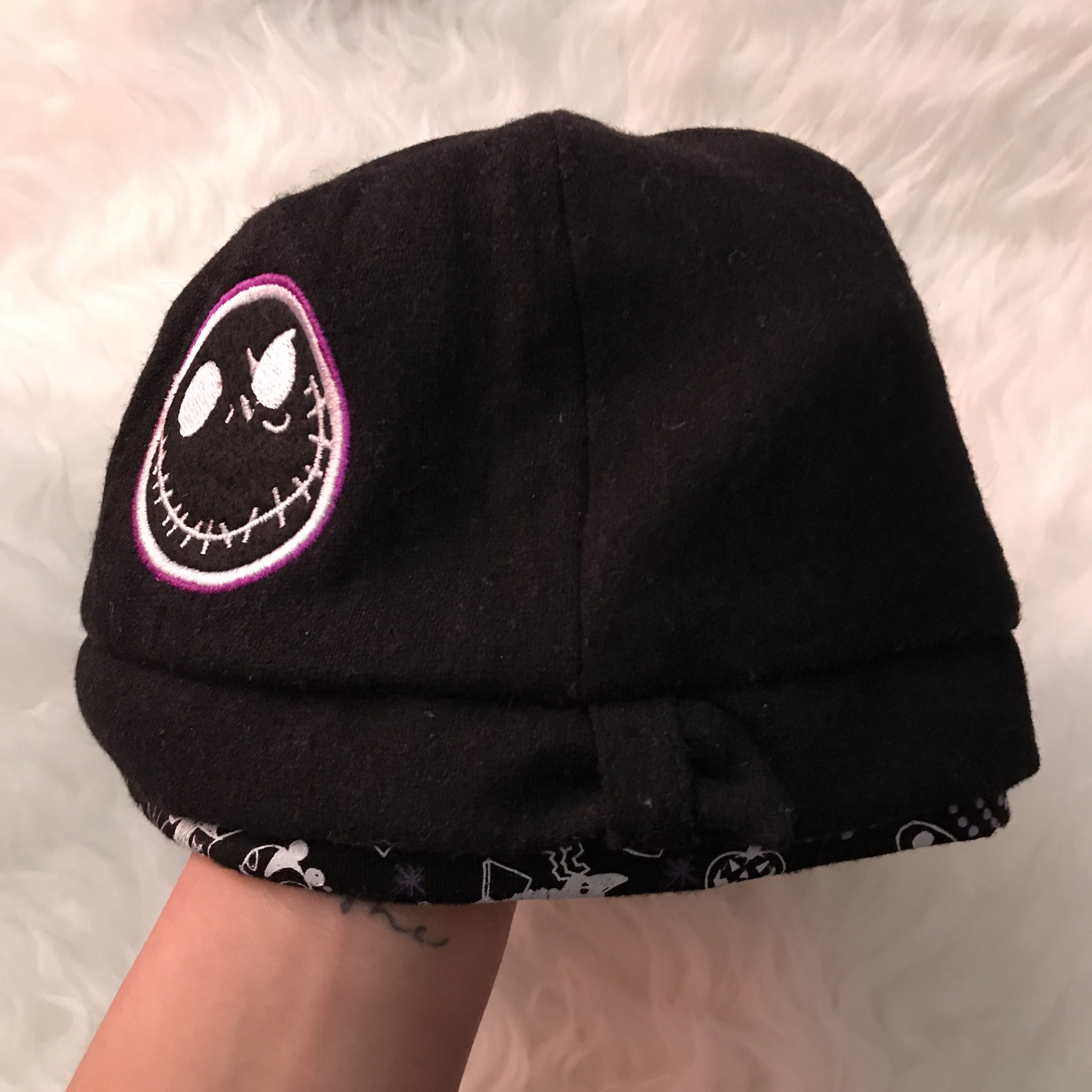 Hot topic nightmare before Christmas knit scarf. Never been - Depop