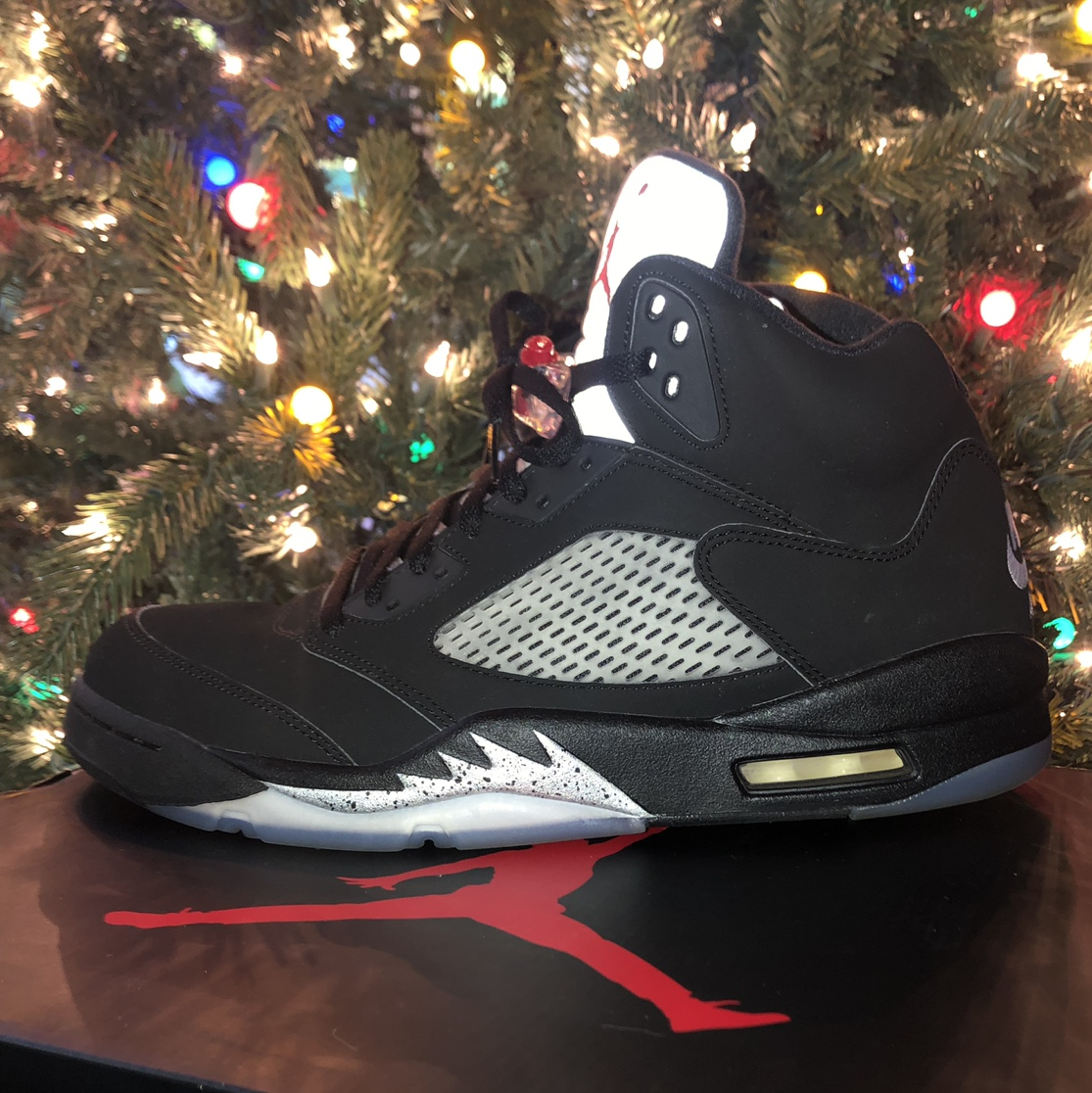 info for 20f2d 8765f AIR JORDAN 5 RETRO size: 12, true to size brand:... - Depop