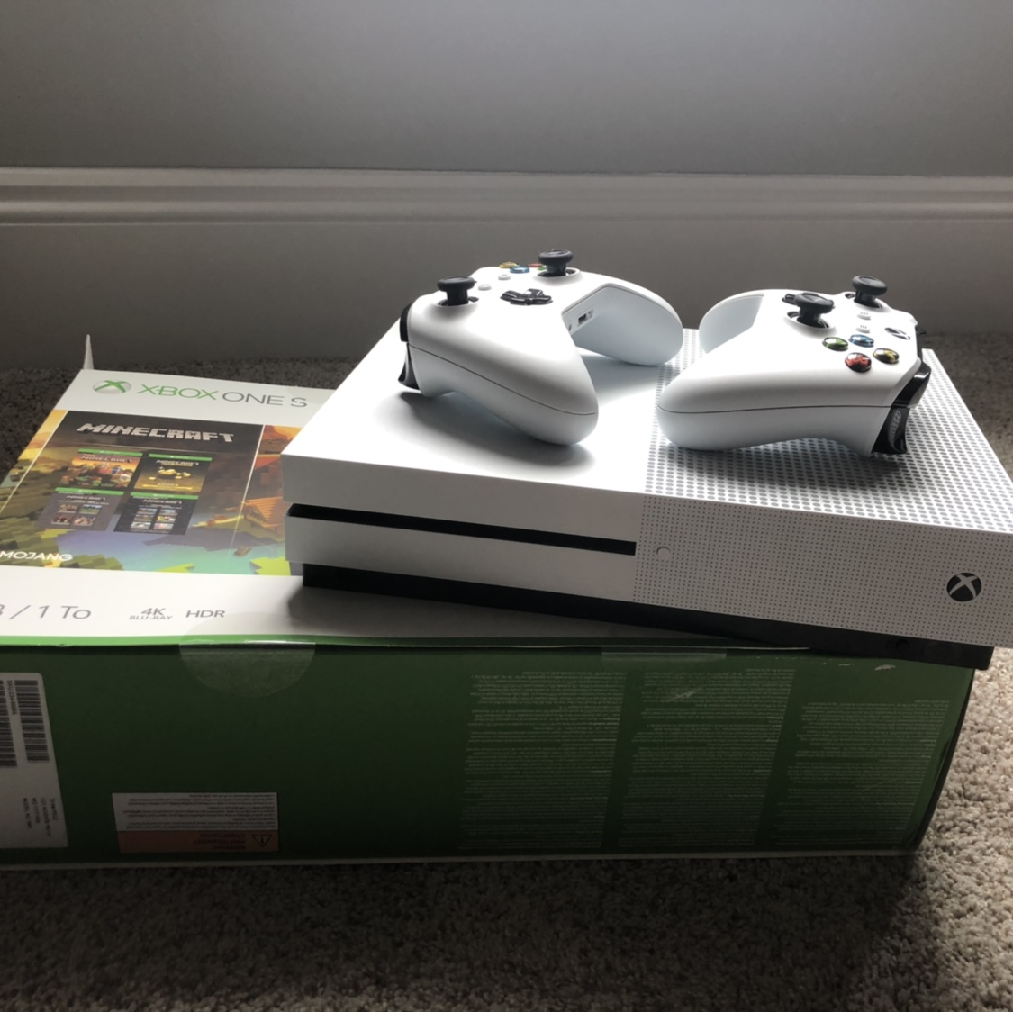 XBOX ONE S +MORE Xbox One Comes with power cord and    - Depop