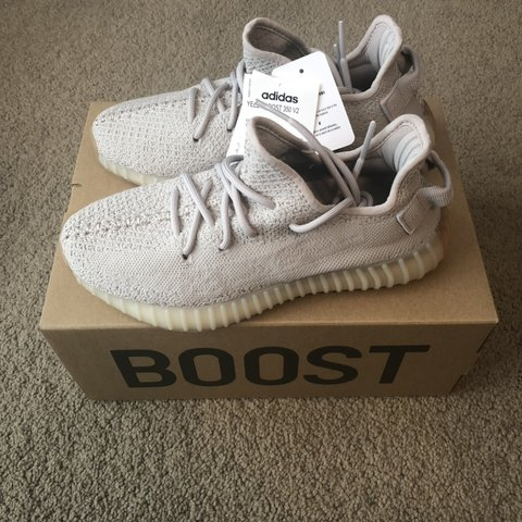 7ee4843a1aa22 Yeezy Boost 350 V2 Sesame UK Size 6 BNIB and will ship OR - Depop