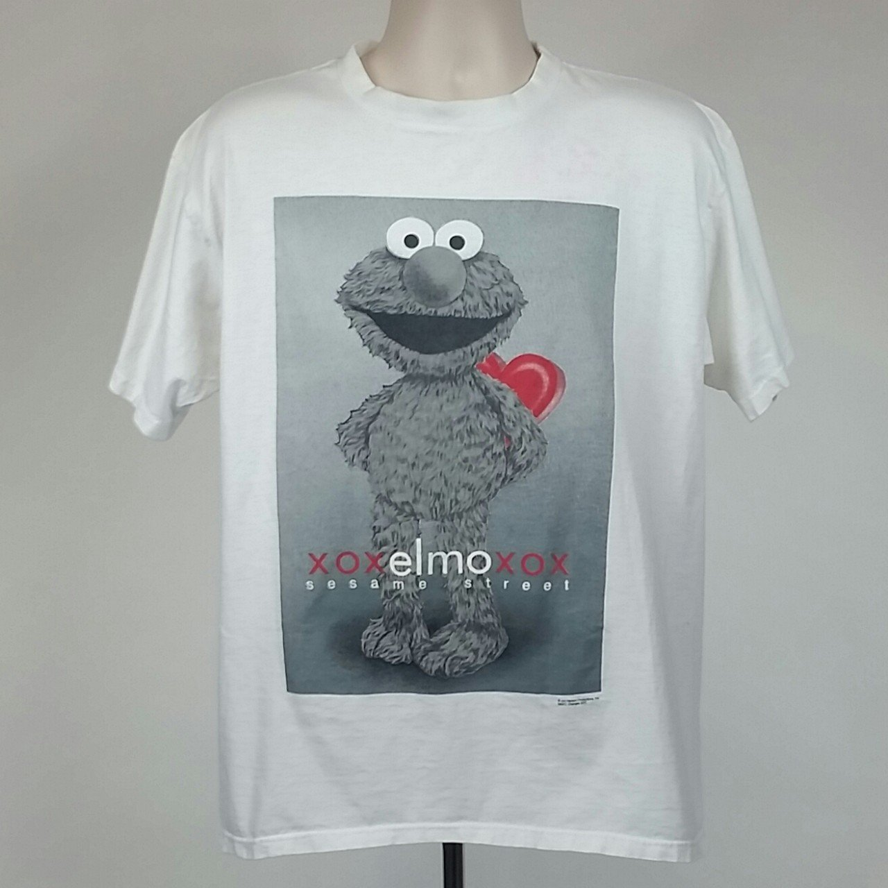 49431803f @squatchs_basement. 5 days ago. Raleigh, North Carolina, US. Vintage Elmo  Valentine's T-Shirt