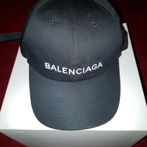 c661daa0185 Brand new balenciaga baseball hat never worn very rare 100% - Depop