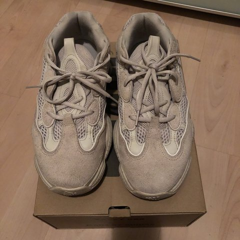 2eebeae5a Adidas Yeezy 500 Blush. Way below stock x price. 100% OG for - Depop