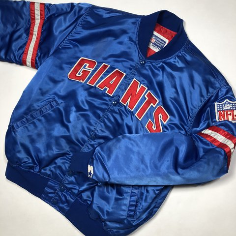 new style 33aeb 4ced2 🏈🏈 Vintage 80's 90's Starter NFL New York Giants... - Depop
