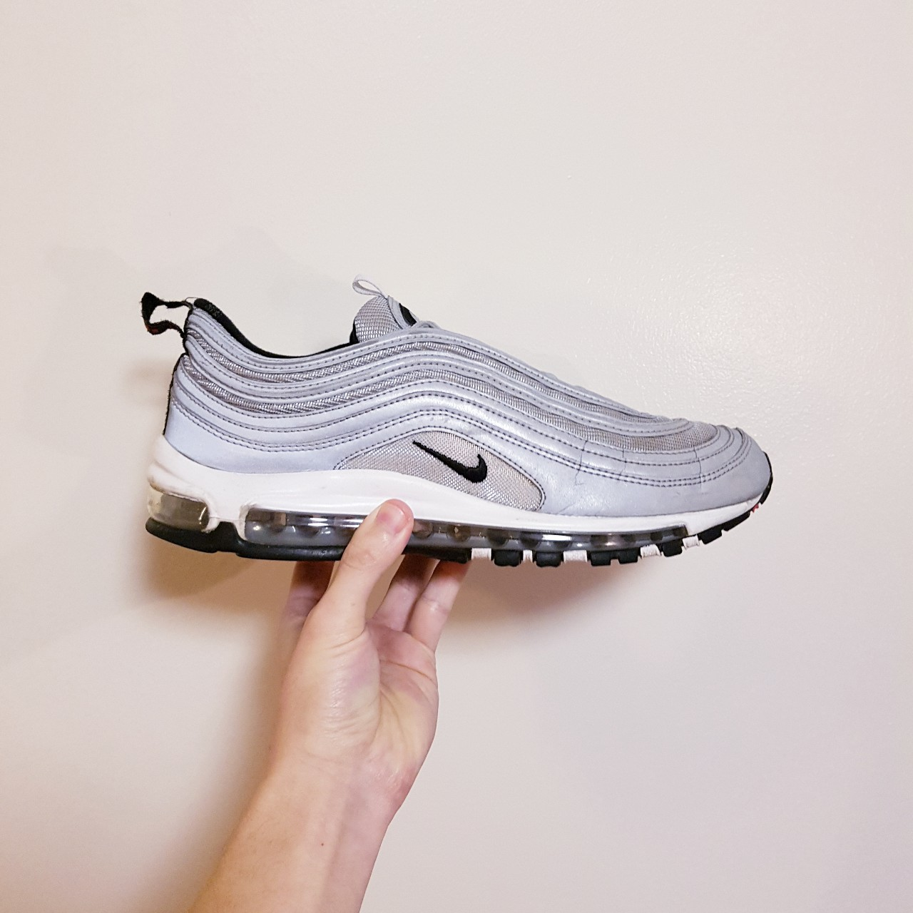 Nike Air max 97 reflective pack Similar to silver Depop