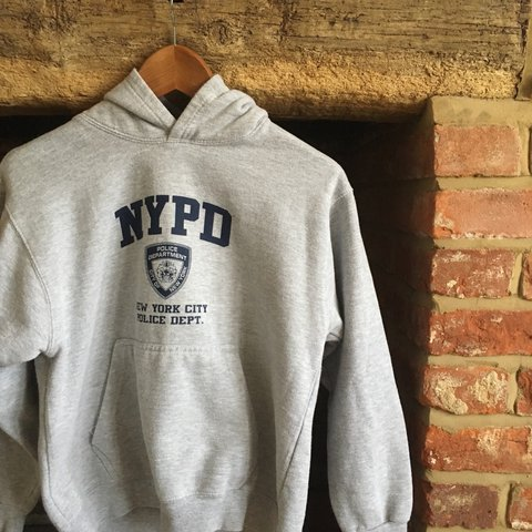 956302cd1 @emilykcollard. 2 years ago. United Kingdom. Vintage unisex NYPD hoodie🎉light  grey ...