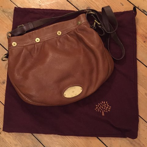 d390ef3a79 Mulberry Mitzy Messenger bag. Oak and tan. Available in - - Depop