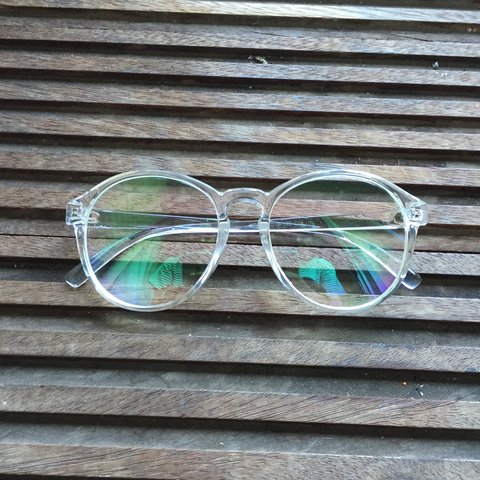 8f97c9cee1  dixiedivine. 3 years ago. United Kingdom. IN LOVE!!!    Round clear frame  and lens glasses ...