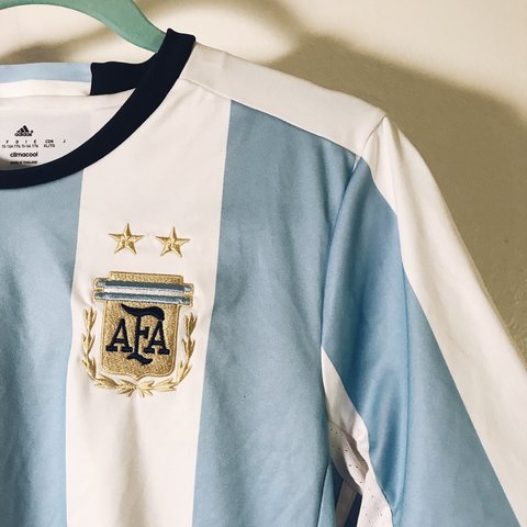 1b3517061 The World Cup is finally here! Argentina Adidas Jersey Size - Depop