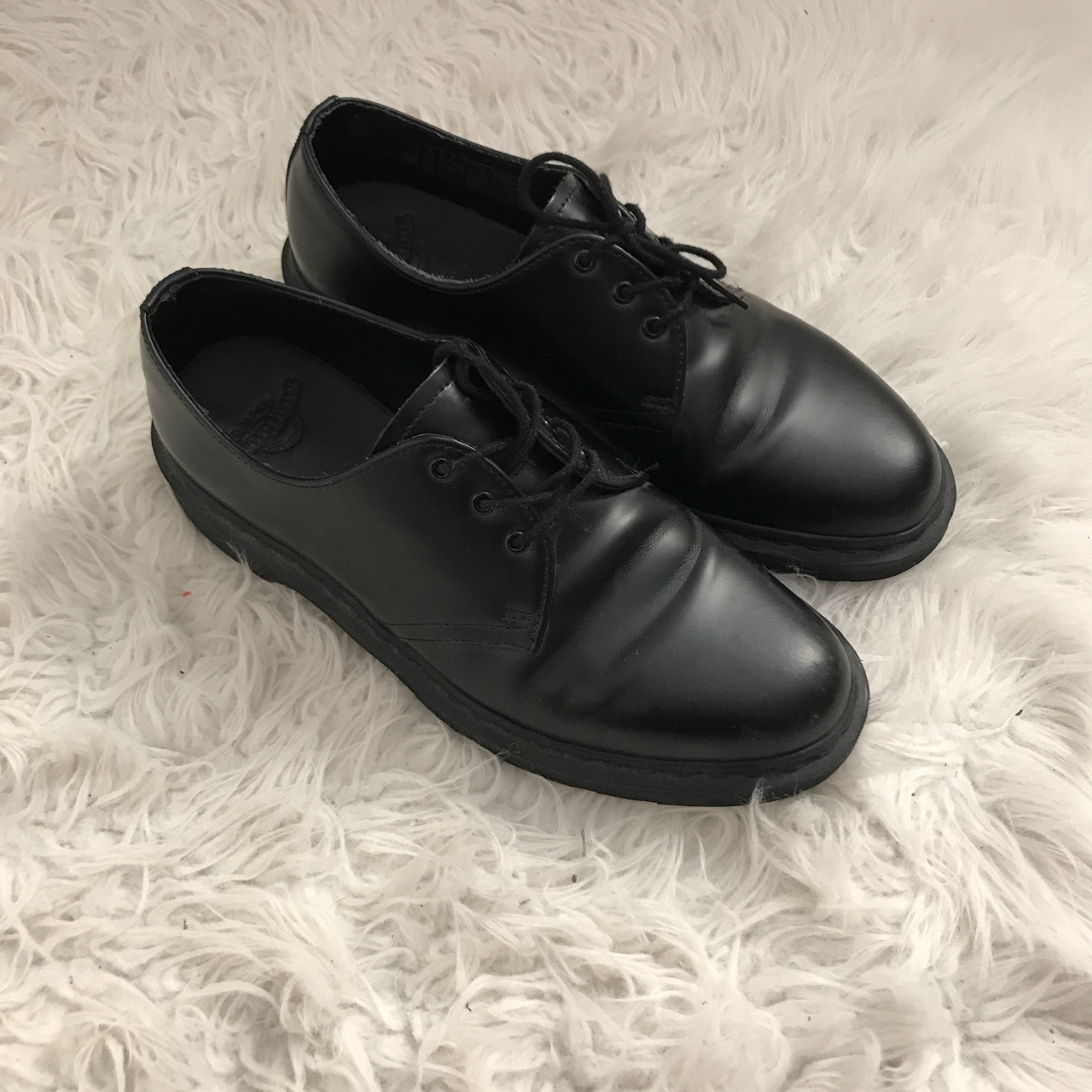 catch huge selection of cheap DR. MARTENS LOW TOP MONO ALL BLACK MATTE SIZE 9 ...