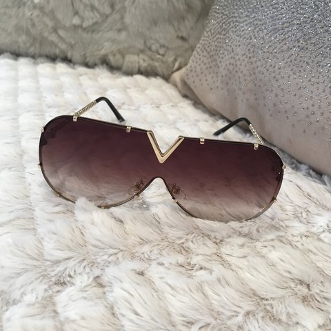 8a7b785050 Selling this Louis Vuitton style sunglasses 💕 BRAND NEW - Depop