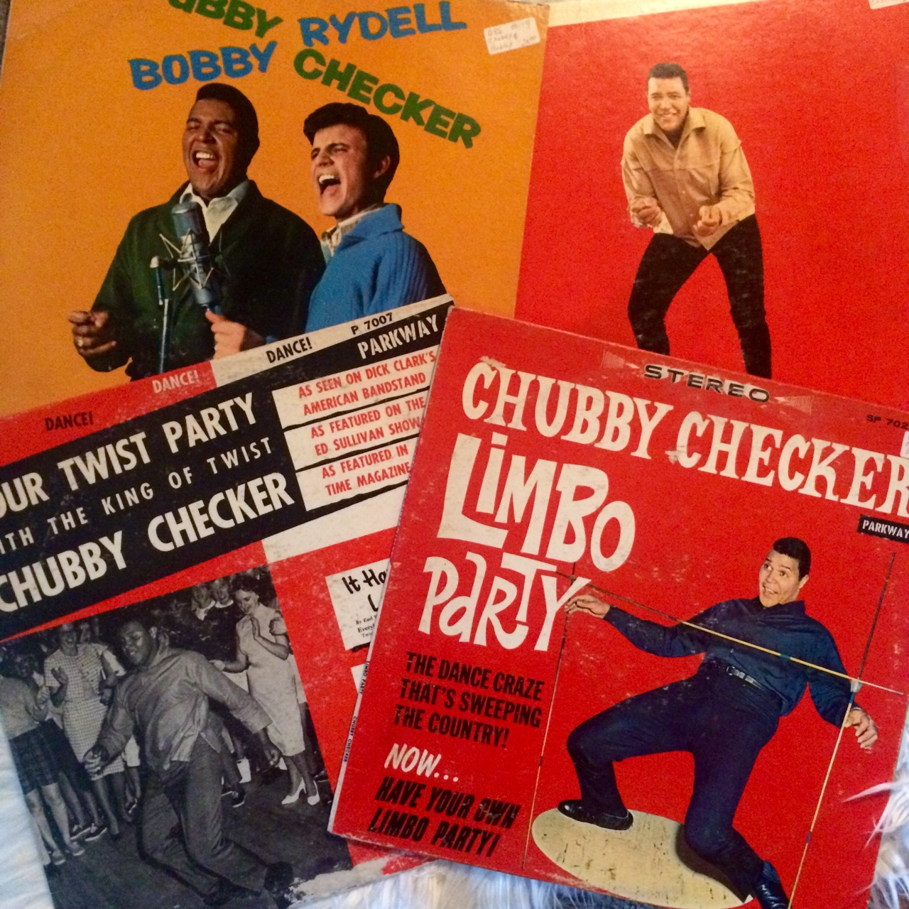 Do the Twist!!!! Chubby Checker LP Lot!!!!! The    - Depop