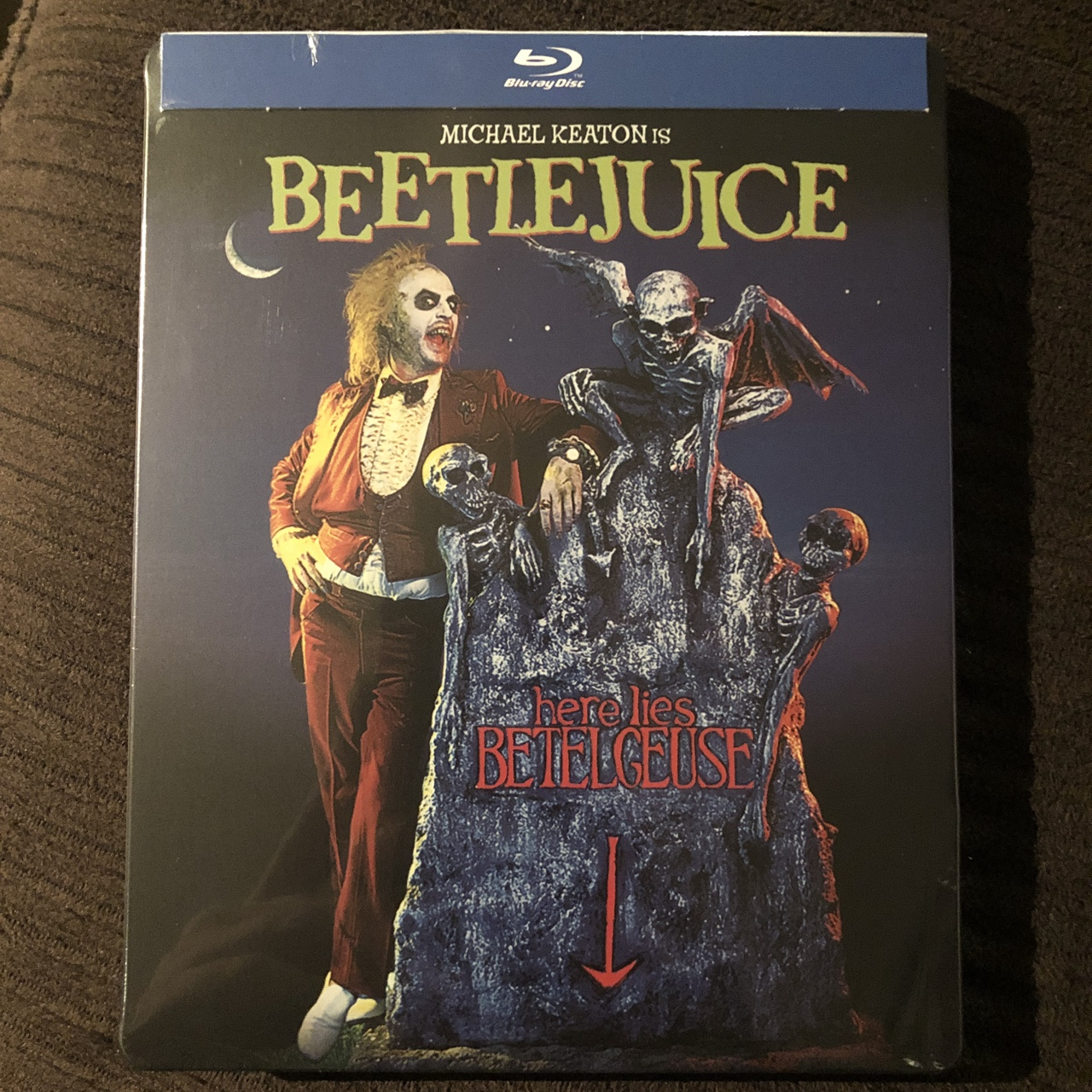 Beetlejuice Limited Edition Steelbook Brand New And Depop