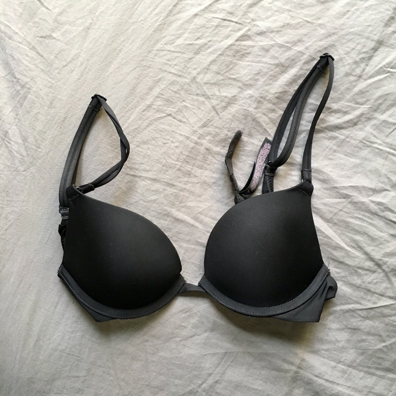 38481320cd049 victoria s secret wear everywhere push-up bra! I used it and - Depop
