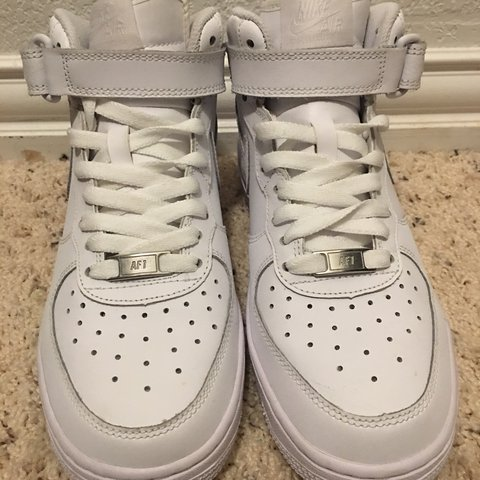 ce7a982bd @samthestar. 2 years ago. Keller, United States. size 5.5 boys nike air  force one sneakers! ...