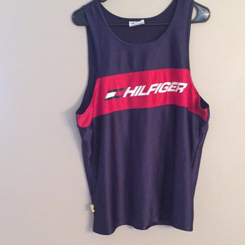 e0a7816b6cb59 Vintage Tommy Hilfiger Athletics tank top