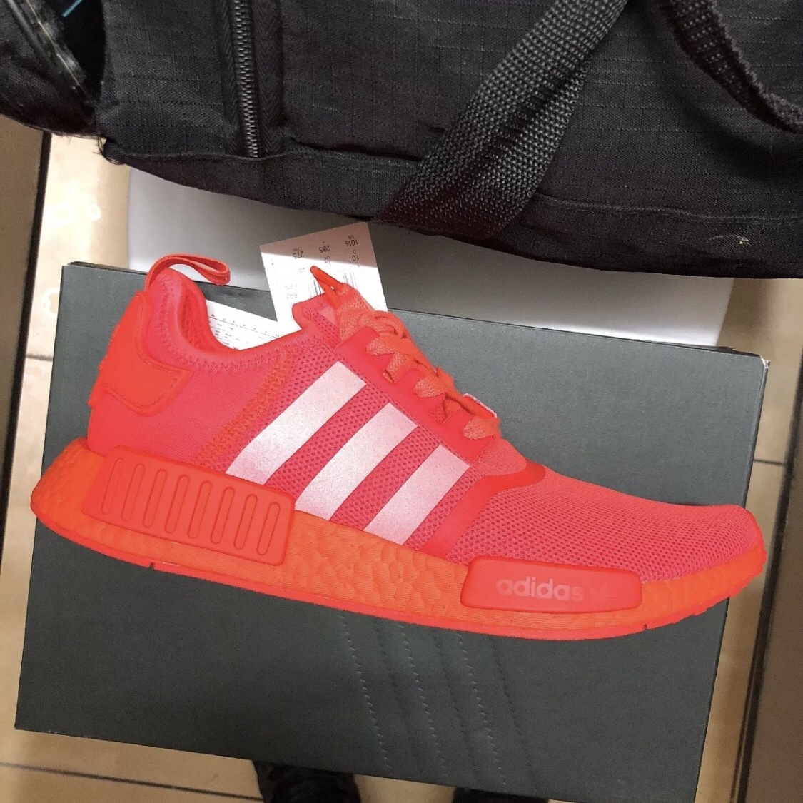 Adidas Nmd R1 Solar Red Uk 10 Brand New In Box With Depop