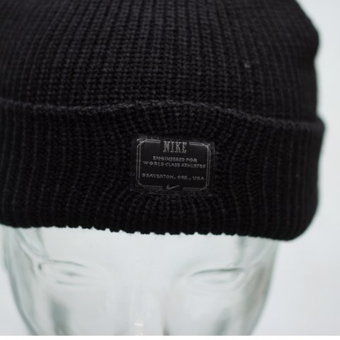 a197f6be0fc Nike SB Fisherman Beanie - Black - BRAND NEW WITH TAGS!  hat - Depop