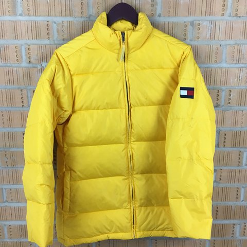 Tommy Hilfiger Jacket Down Fill Puffa Puffer Jacket In To Depop