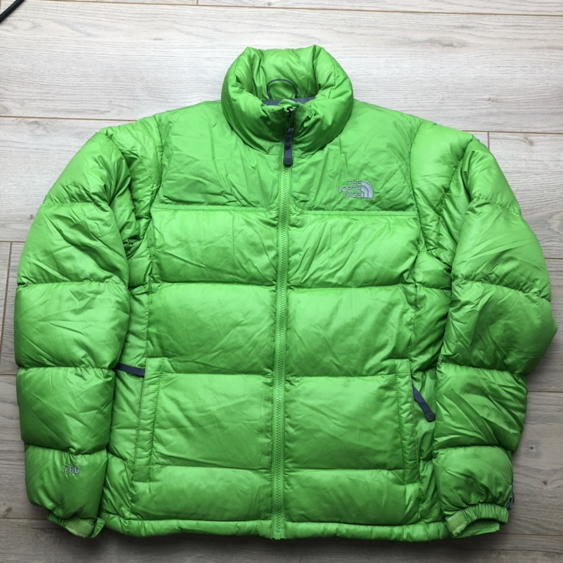 Vintage lime-green puffer 00s
