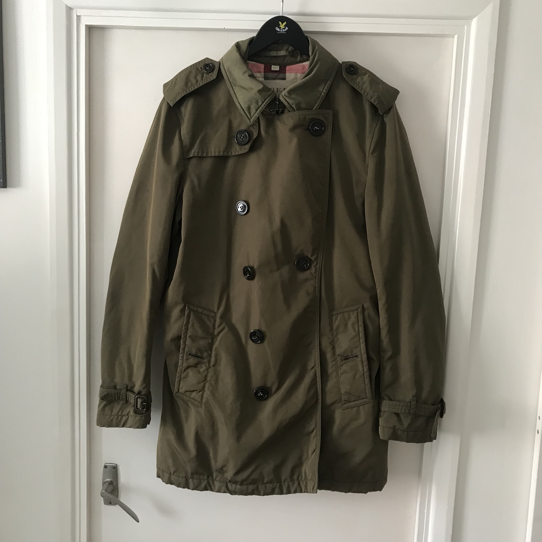 Burberry Mac jacketcoat Made in Italy Size M Depop