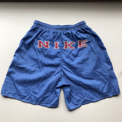 7f53f272b4 @pnwarchive. 10 days ago. Tacoma, United States. Vintage Nike Swimming  Trunks in Blue Great condition!