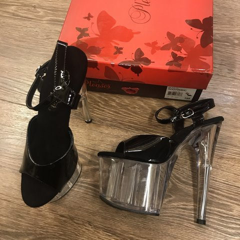38a6b196e25 ADORE-709 sexy pleaser 7 inch stiletto heel and high ankle 2 - Depop
