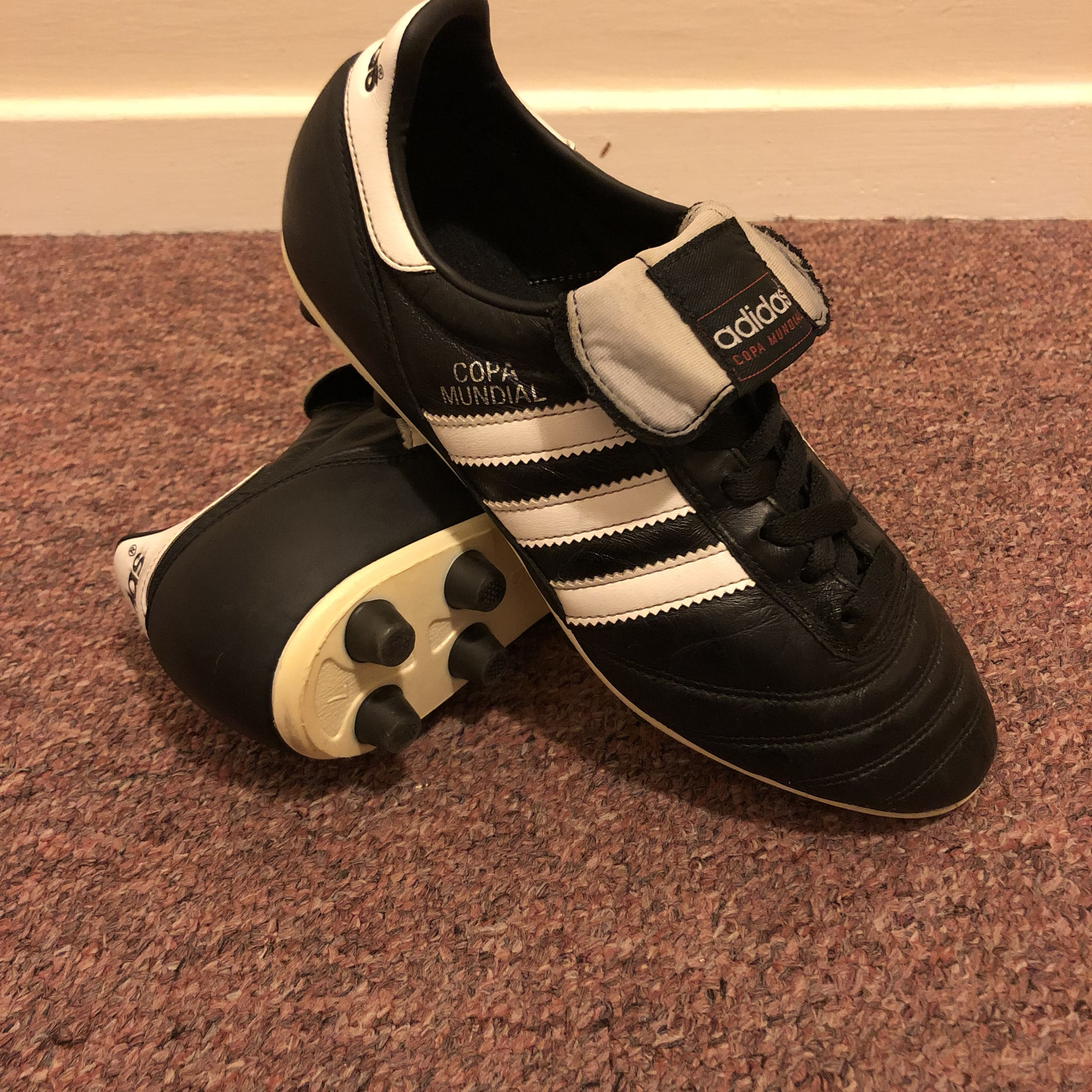 baby football boots size 7