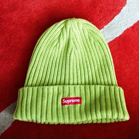 dc68f57884b70 Supreme beanie. Authentic. Fits all sizes. £35.  palace - Depop