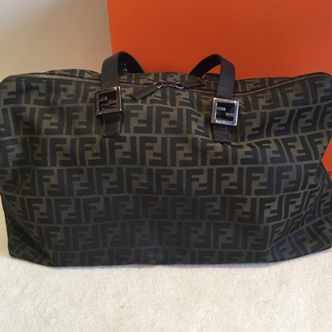 89ae742315 WTB THIS FENDI DUFFLE BAG. NEED ONE BAD LET ME KNOW IF YOU ! - Depop