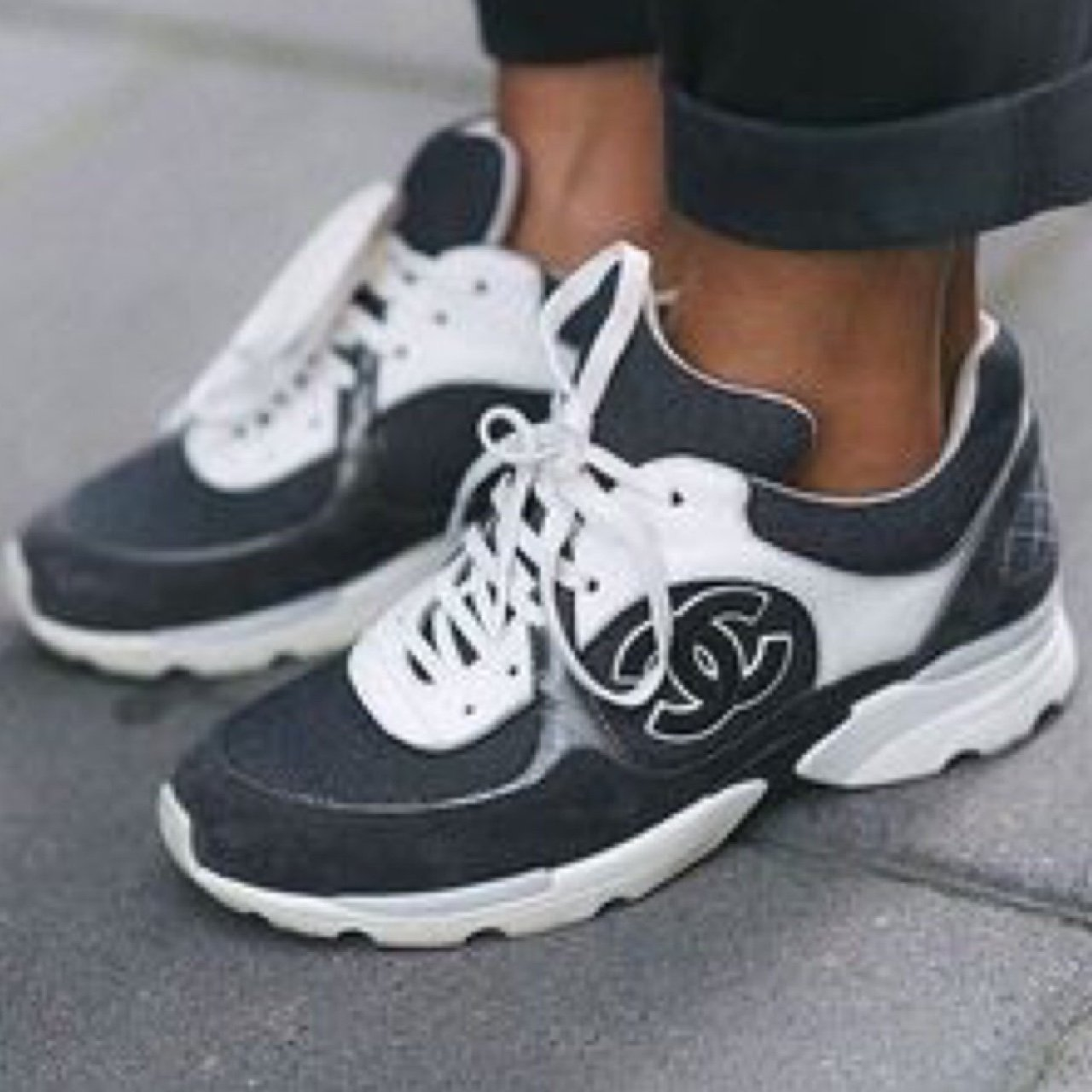 f0968652fee WTB (MEANS WANT TO BUY) - in search of more Chanel sneakers - Depop