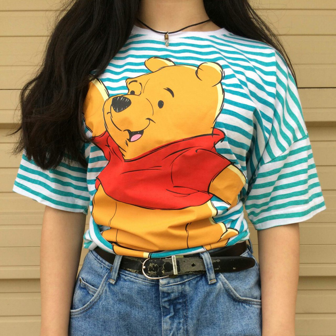 Dope ass pooh bear tee. Fits sizes m-l in women best - Depop 639b1763d