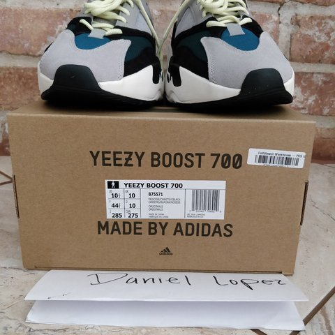 d7ac8ed83d7 Adidas Yeezy Boost 700 OG Color  Black   White   Code  New - Depop