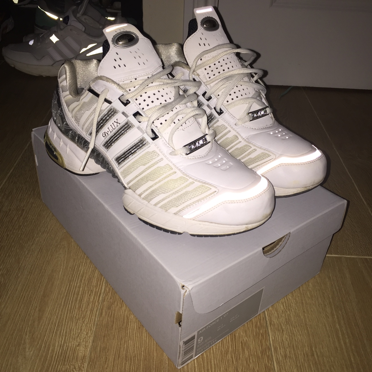 Adidas D•LUX deluxe climacool retro trainers...