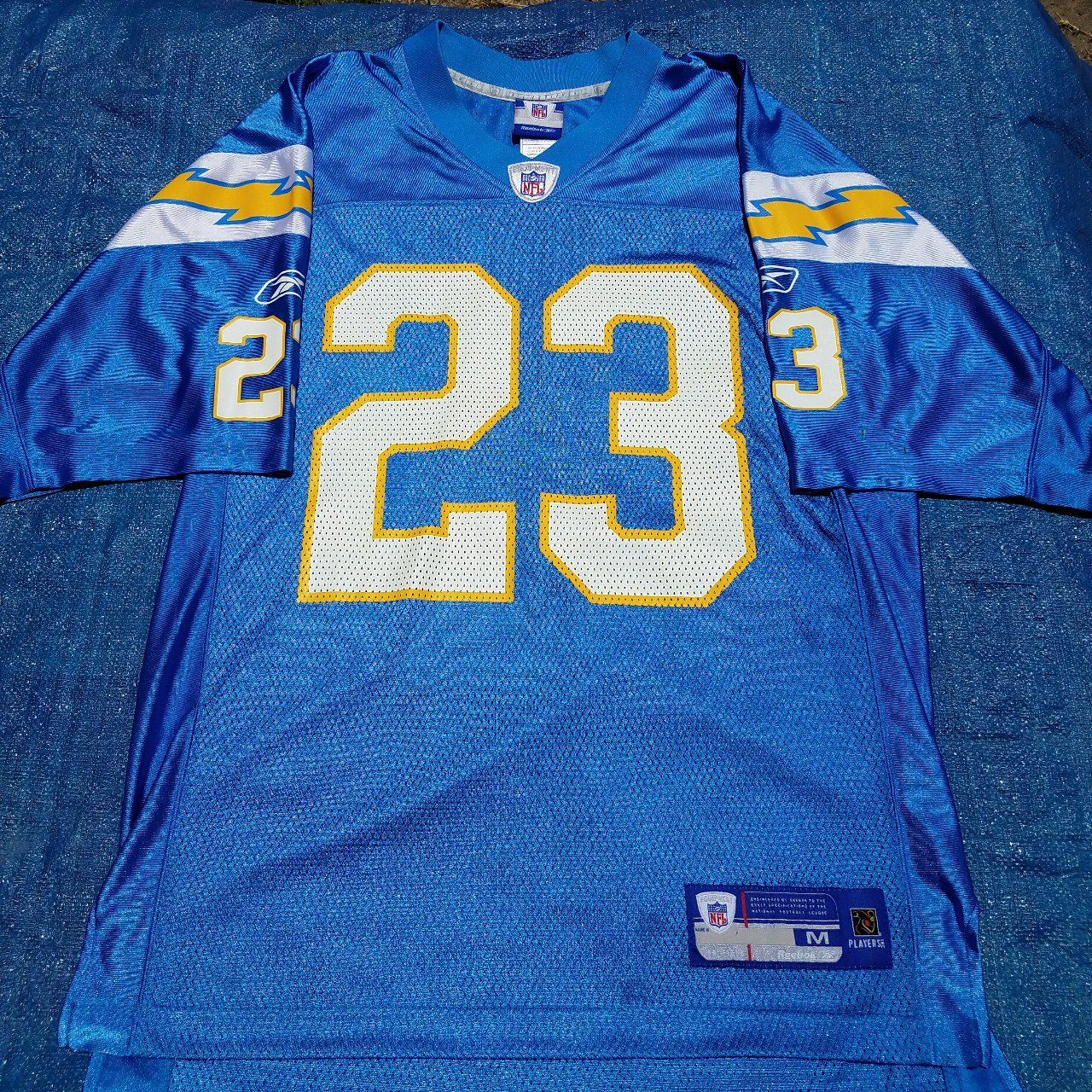 f00d01dab Adidas san diego chargers home jersey Doug Flutie 7 Can fit - Depop