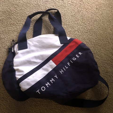 dfe37cad @ianistheman100. 20 days ago. West Palm Beach, United States. Tommy  Hilfiger Duffle Bag Only used twice. Deadstock.
