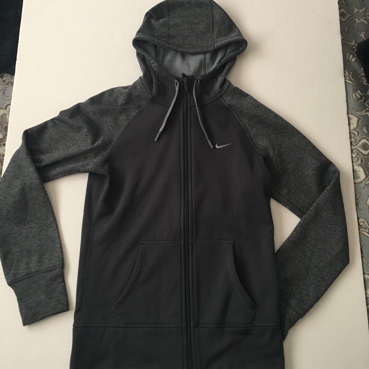 Women s Nike Dri-Fit hoodie. Size small. Worn a couple but - Depop 6d68e4aafb