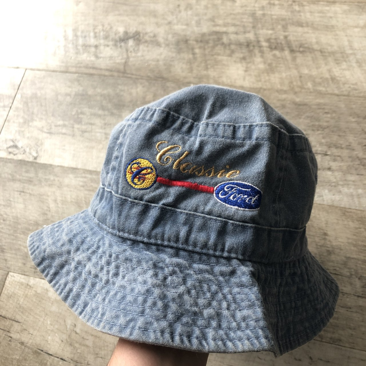 Vintage ford bucket hat 9 10 condition - Depop 72591d37272