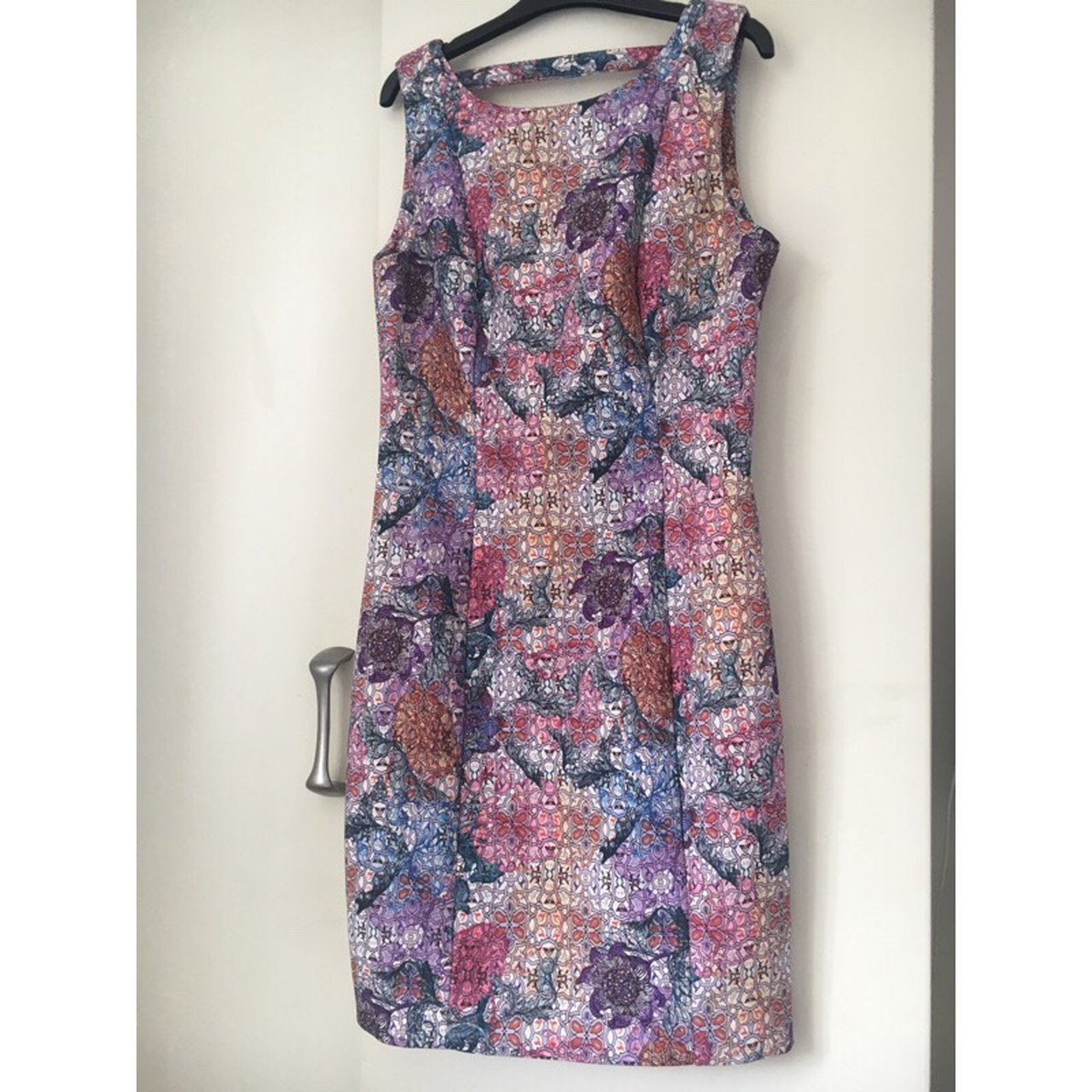 7434075c659e Limited Edition H M mosaic floral dress 🌸🌺 Worn Once to a - Depop